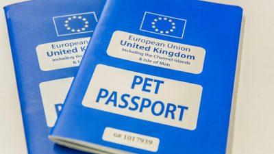 Pasaport pentru animale de companie