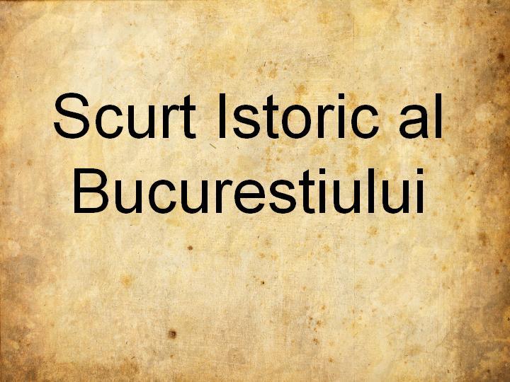 Bucuresti – 10.000 de case, 60.587 locuitori