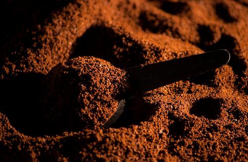 raked coffee