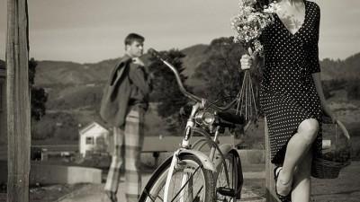 Bicicleta la casa ei
