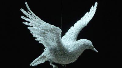 Incredibilele sculpturi de sarma ale lui Ivan Lovatt