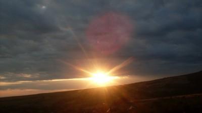 The sun is all mine