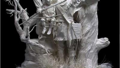 Sculpturi de hartie
