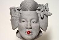 Sculpturi din franghii