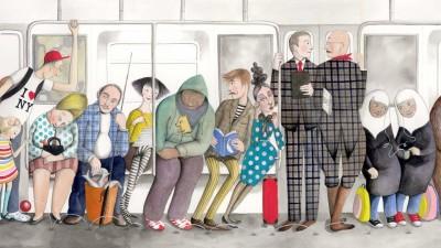 Desene din metrou