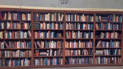 Biblioteca din garaj